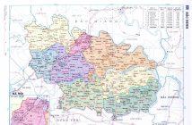 Bản đồ hành chính tỉnh Bắc Ninh