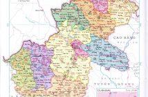 Bản đồ hành chính tỉnh Hà Giang Việt Nam