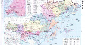 Bản đồ tỉnh Quảng Ninh