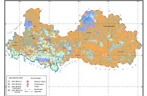 Bản đồ sử dụng đất tỉnh Bắc Giang