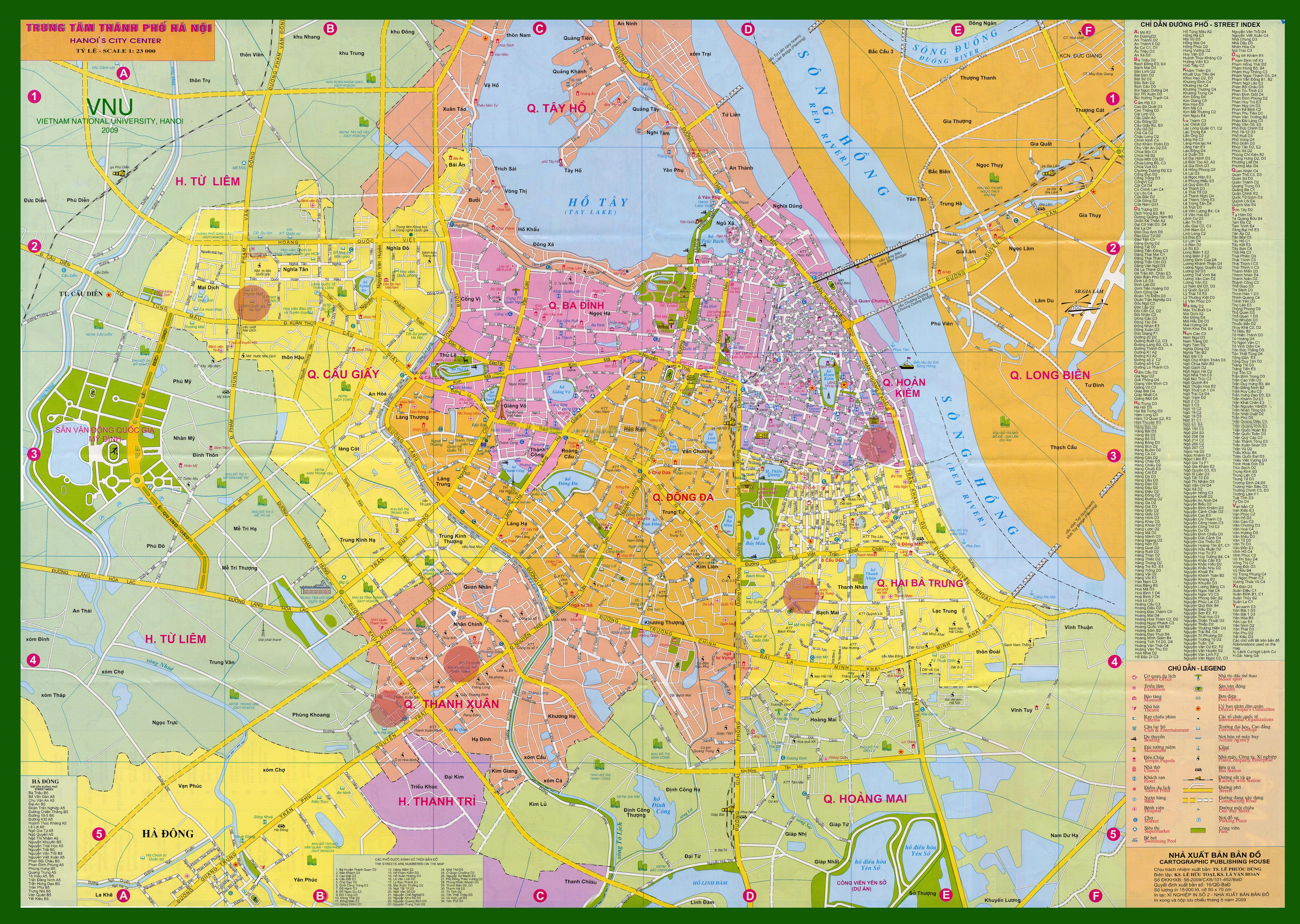 sử dụng bản đồ giao thông Hà Nội