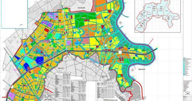 Bản đồ quy hoạch sử dụng đất quận 12