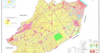 Bản đồ quy hoạch sử dụng đất tỉnh Hậu Giang đến năm 2020