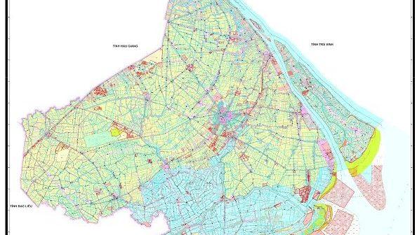 Bản đồ điều chỉnh quy hoạch sử dụng đất tỉnh Sóc Trăng đến năm 2020