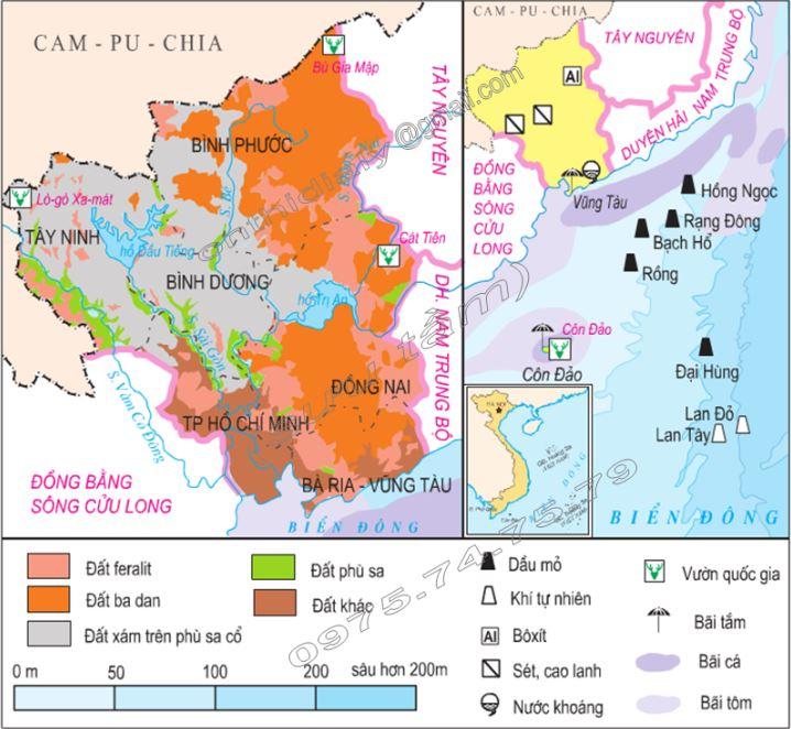 Bản đồ địa hình Đông Nam Á qua bản đồ địa hình Việt Nam