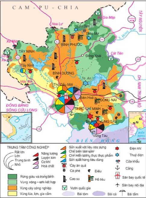 Bản đồ Đông Nam Bộ Việt Nam: Tìm hiểu về bản đồ Đông Nam Bộ 4