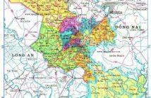 Bản đồ hành chính thành phố Hồ Chí Minh