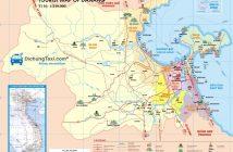 Bản đồ các điểm du lịch ở Đà Nẵng