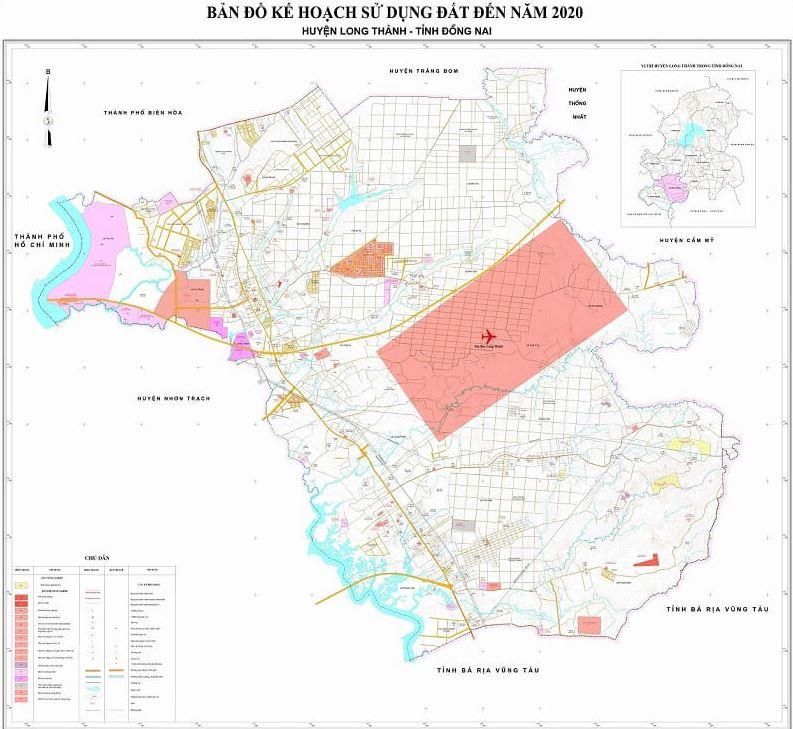 Bản đồ quy hoạch sử dụng đất tỉnh Đồng Nai đến năm 2030