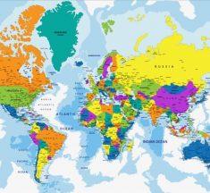 Bản đồ thế giới – Bản đồ các châu lục