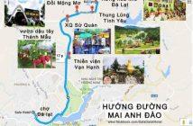 Bản đồ du lịch Đà Lạt tỉnh Lâm Đồng