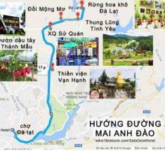 Bản đồ thành phố Đà Lạt – Tìm hiểu bản đồ du lịch Đà Lạt