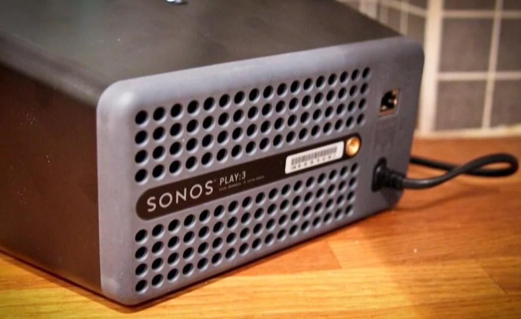 Sonos play 3 - Chiếc loa thông minh cho ngôi nhà hiện đại 5