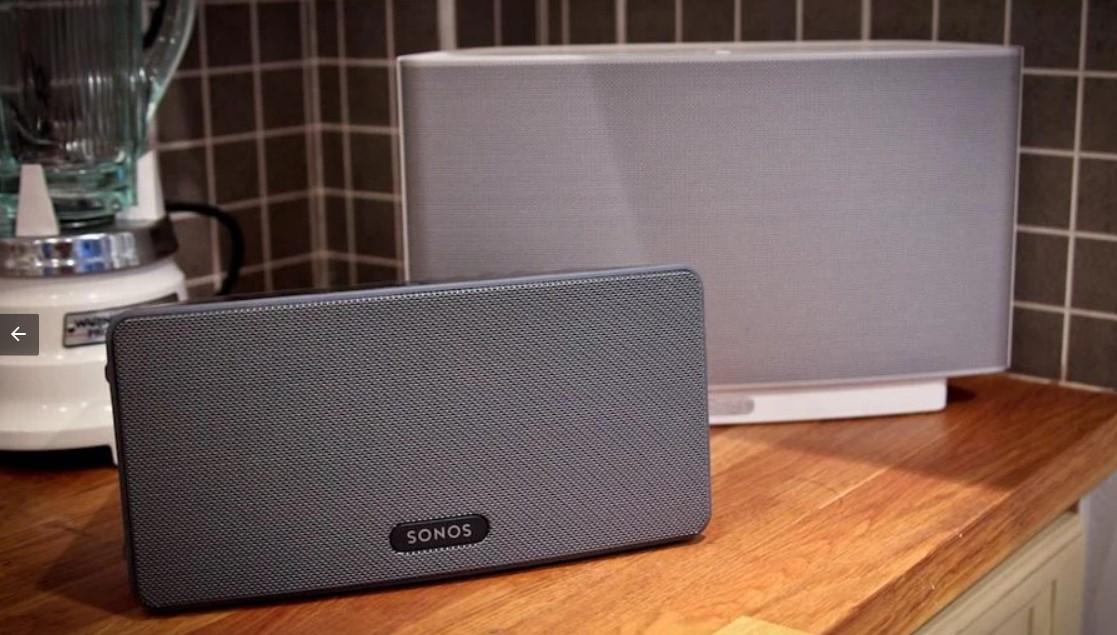 Sonos play 3 - Chiếc loa thông minh cho ngôi nhà hiện đại 1