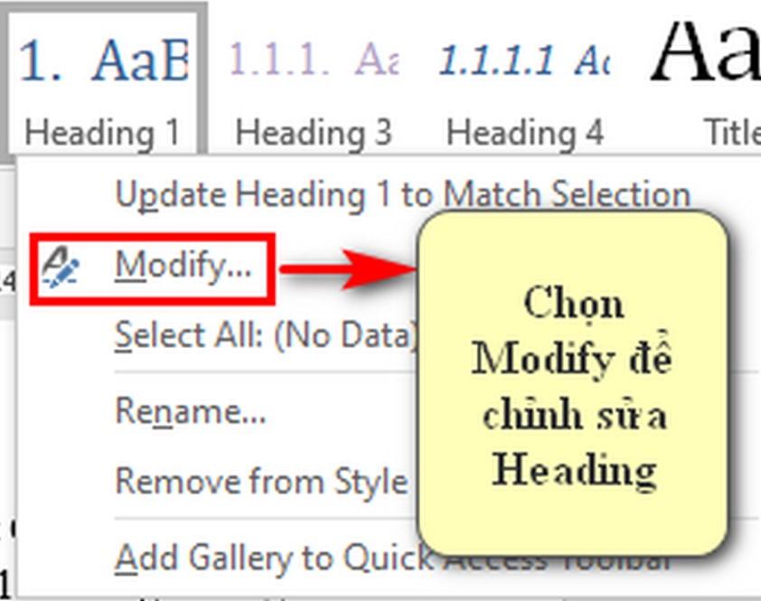 Cách tạo mục lục trong Word chuyên nghiệp với Multilevel List 6