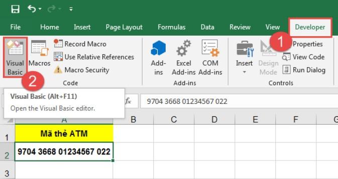 Hướng dẫn cách tạo mã QR code trên Excel bằng VBA 2