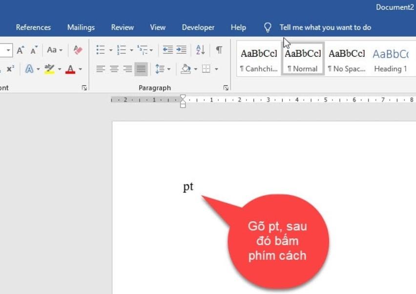 Cách thiết lập gõ tắt trong Word cực đơn giản 6