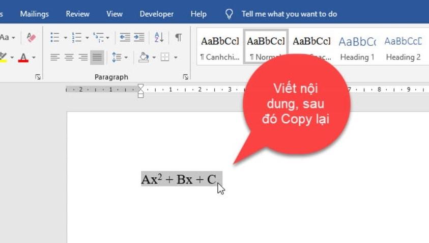 Cách thiết lập gõ tắt trong Word cực đơn giản 9