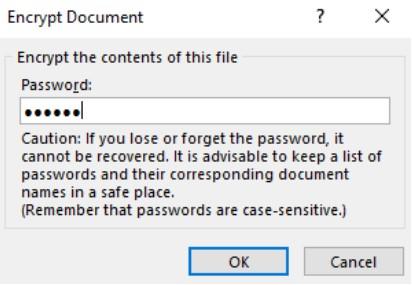 Đặt mật khẩu bảo vệ tài liệu Word, Excel và PowerPoint 4