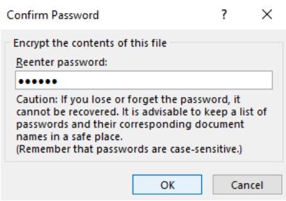 Đặt mật khẩu bảo vệ tài liệu Word, Excel và PowerPoint 5