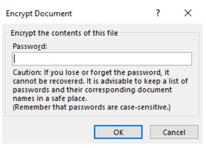 Đặt mật khẩu bảo vệ tài liệu Word, Excel và PowerPoint 7