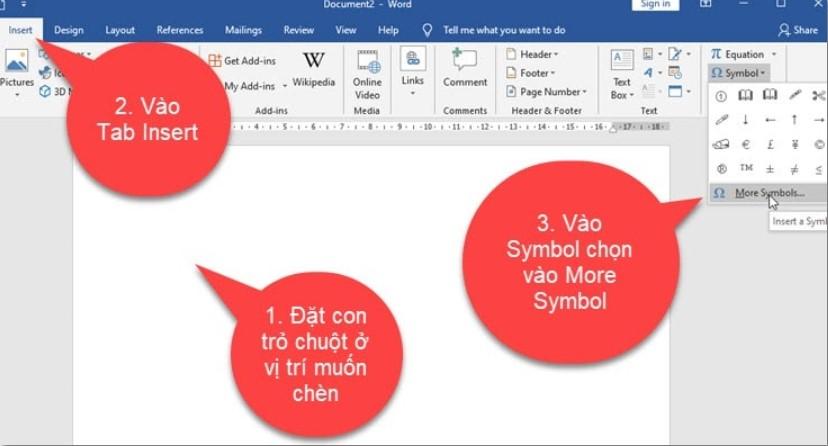 Làm thế nào để khoanh tròn đáp án trong Word, Excel…? 2