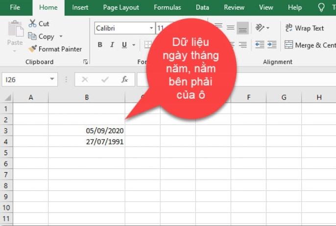 [EXCEL CƠ BẢN] Tìm hiểu về các kiểu dữ liệu trong Excel 8