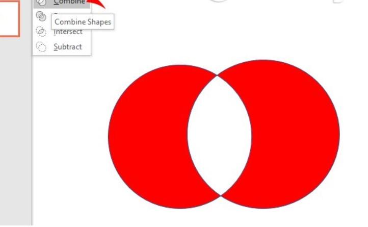 Merge Shape trong Powerpoint là gì và cách sử dụng để gộp các hình khối 6