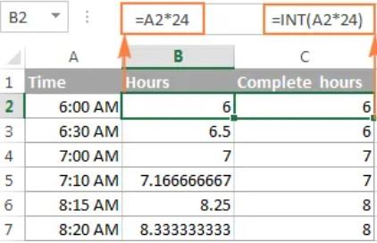 Hướng dẫn định dạng giờ phút giây trong Excel 2