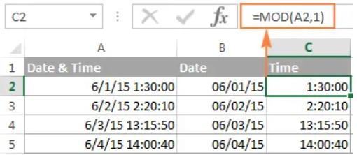 Hướng dẫn định dạng giờ phút giây trong Excel 6