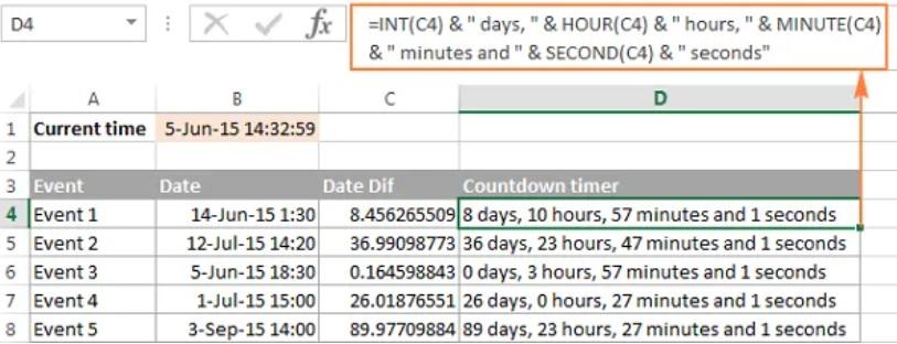 Hướng dẫn định dạng giờ phút giây trong Excel 8