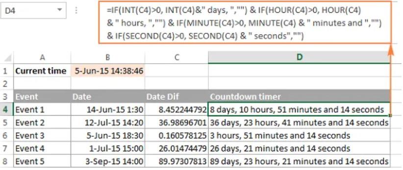 Hướng dẫn định dạng giờ phút giây trong Excel 9