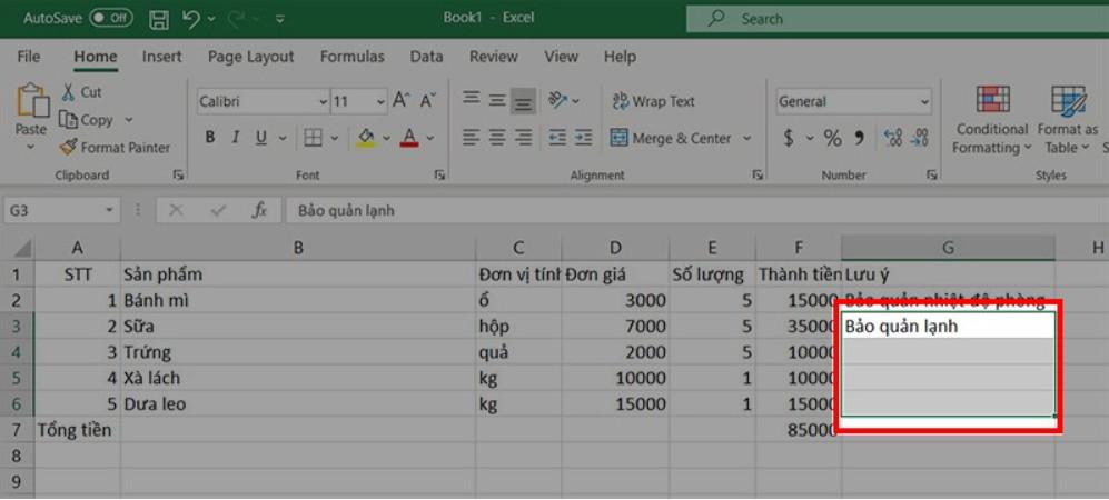 Hướng dẫn gộp nhiều ô thành 1 ô trong Excel không bị mất dữ liệu 9