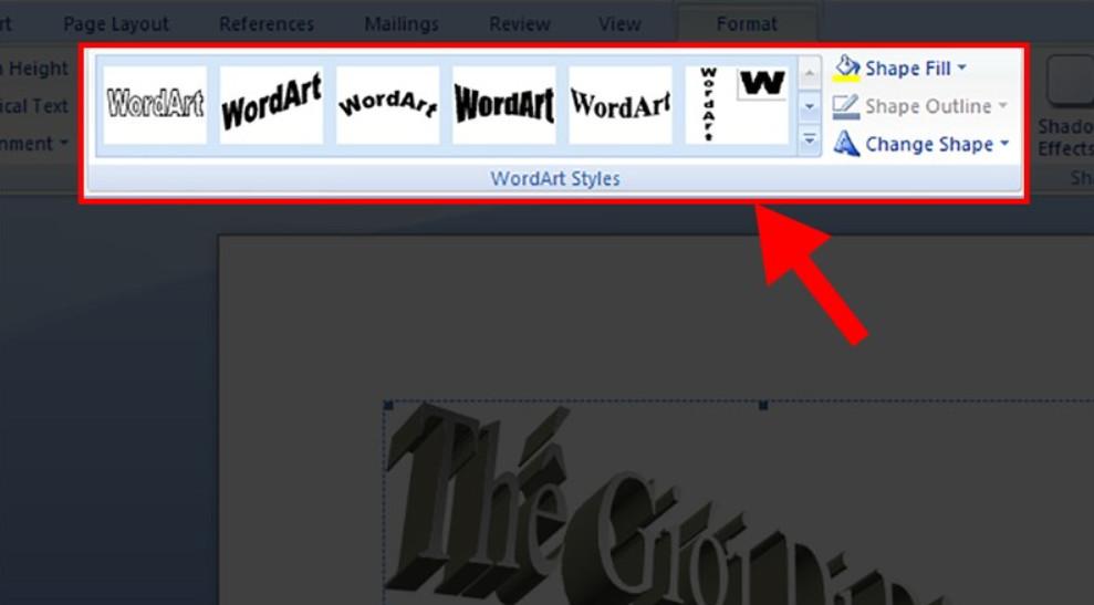 Cách tạo chữ nghệ thuật trong Word chuyên nghiệp 15