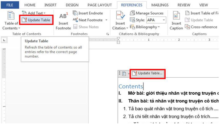 Cách tạo mục lục tự động trong Word không thể đơn giản hơn! 10