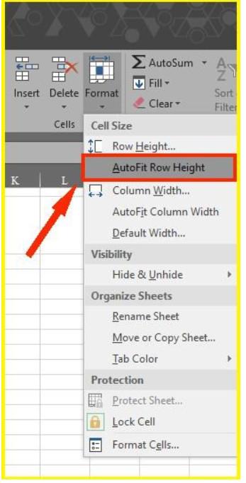 Làm thế nào để xuống dòng trong Excel 2003, 2016.. 2019? 11