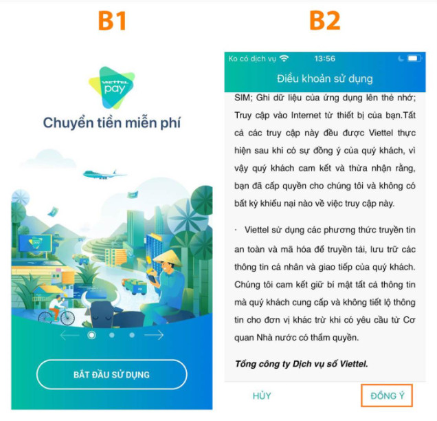 Cách đăng ký sử dụng ViettelPay chuyển tiền trong 2s 2