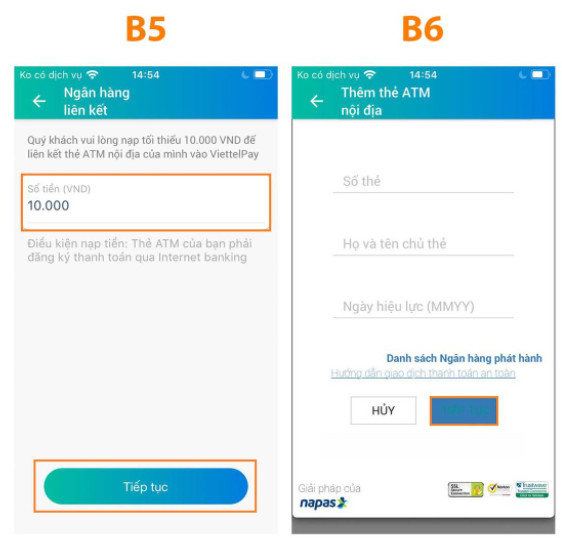 Cách đăng ký sử dụng ViettelPay chuyển tiền trong 2s 8
