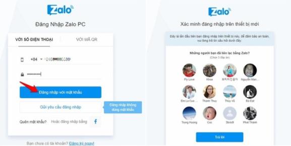 Hướng dẫn cách đăng nhập Zalo trên Web Chrome và Cốc Cốc trên Máy Tính 2