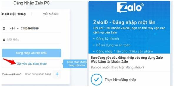 Hướng dẫn cách đăng nhập Zalo trên Web Chrome và Cốc Cốc trên Máy Tính 3