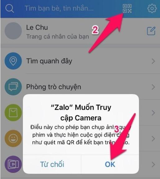 Hướng dẫn cách đăng nhập Zalo trên Web Chrome và Cốc Cốc trên Máy Tính 5