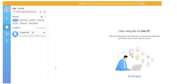 Hướng dẫn cách đăng nhập Zalo trên Web Chrome và Cốc Cốc trên Máy Tính 7