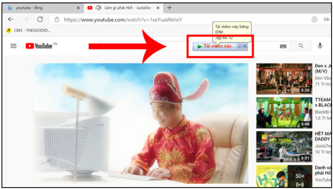 Cách tải Video từ Youtube về máy tính nhanh nhất 12
