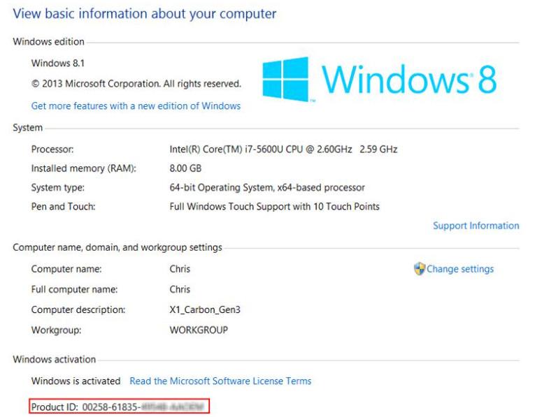 Key Win 8 / Win 8.1 - Key windows 8/8.1 cài đặt và Active bản quyền vĩnh viễn 4