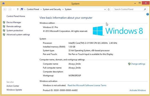 Key Win 8 / Win 8.1 - Key windows 8/8.1 cài đặt và Active bản quyền vĩnh viễn 5