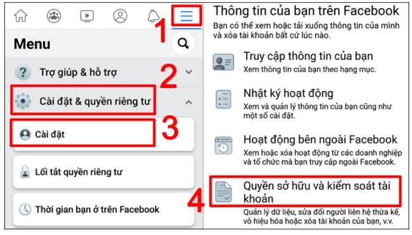 Hướng Dẫn Cách Khóa Facebook Nhanh Chóng 6