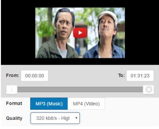 Cách tải nhạc MP3 từ video trên Youtube 1