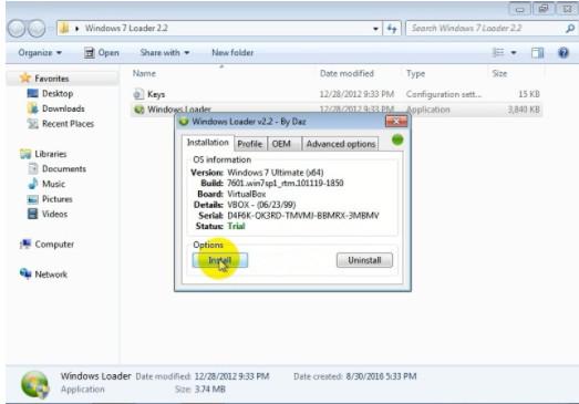Tìm Hiểu Về Windows Loader 2.2.2 - Công cụ active Win 7,8 tốt nhất 2