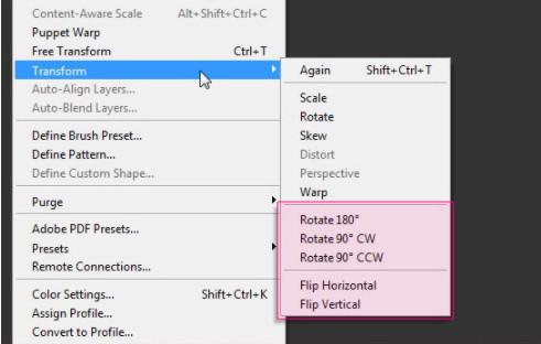 Cách xoay chữ trong Photoshop cho mọi phiên bản 8