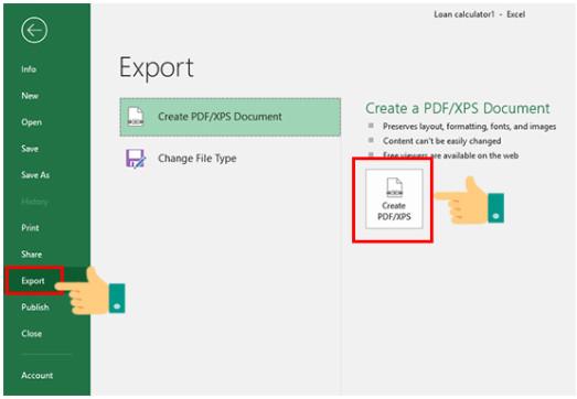 Cách chuyển Excel sang PDF đơn giản nhất nhanh chóng nhất 2
